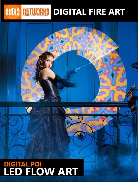 Digital Fire Art with www.wedding-music.ie