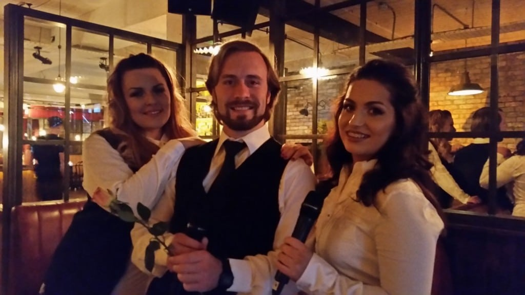Ireland's Singing Waiters with www.audionetworks.ie and www.wedding-music.ie