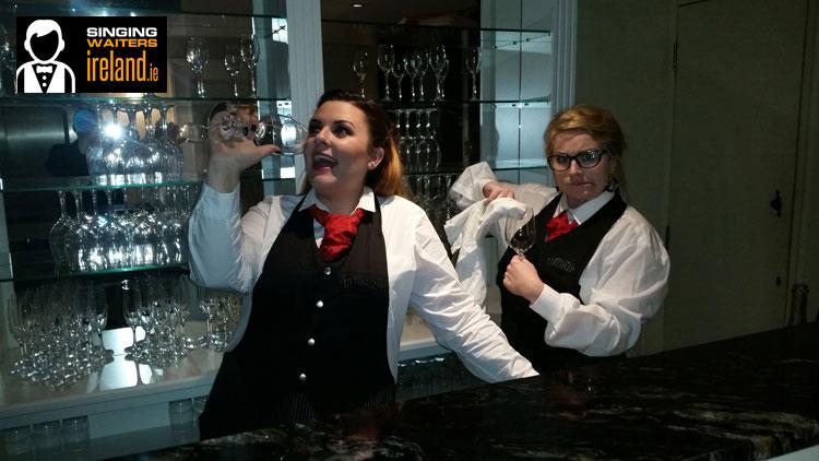 Irish Singing Waiters with www.wedding-music.ie